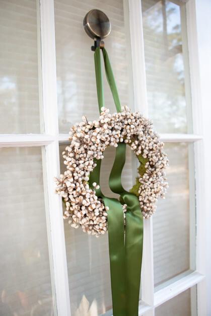 tallow berry wreath idea