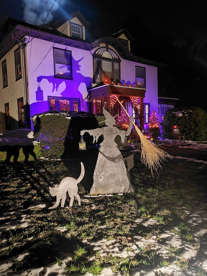 martha stewart witch silhouette